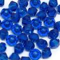 3mm Swarovski Bicones, Capri Blue