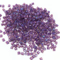11-TRI-0928, Rainbow Rosaline/Opaque Purple-Lined (28 gr.)