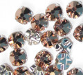 30ss Swarovski Rose Montees - Crystal Rose Gold