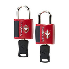 Samsonite Accessories 2-Pack Key Locks