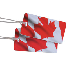 Austin House Canada Luggage Tags (2-Pack)