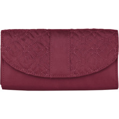 Travelon Signature Embroidered Envelope Wallet