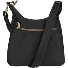 Travelon Anti-Theft Signature Top Zip Shoulder Bag