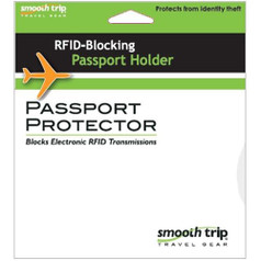 Smooth Trip RFID Passport Protector