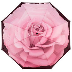 "Galleria Folding 48"" Umbrella, The Perfect Rose"