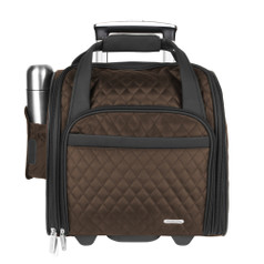 Travelon Wheeled Underseat Carry-on w/ Back-Up Bag