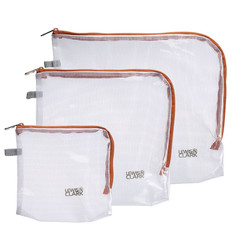 Lewis N Clark Travel Pouches, 3-Pack