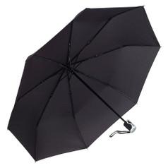"Galleria Folding 46"" Umbrella, 3-Section Auto Open/Close Umbrella - Black"