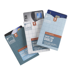 Lewis N Clark RFID Credit Card Shield, 3-Pack