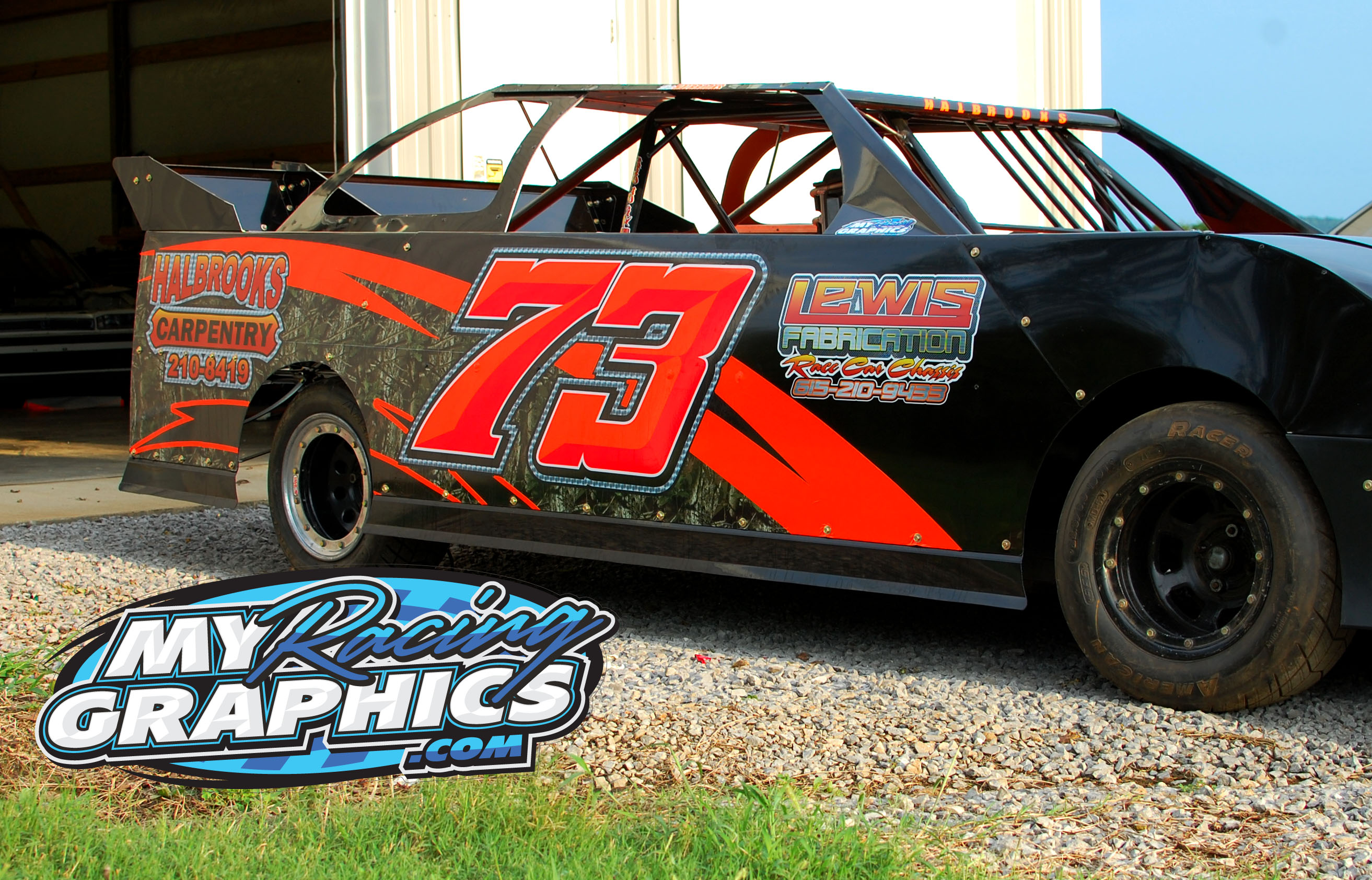 Dustin Halabrooks mini stock wrap