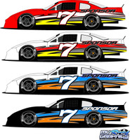 Side Wrap 7 Late Model, Sportsman, Super Street
