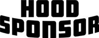 Race Car Hood Sponsor Vinyl Decal One Color