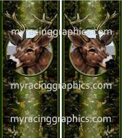 Deer on Camo Truck Bed Bands