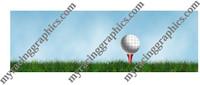 Golf rear window truck see thru graphic