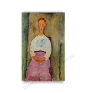 Modigliani | Girl with a Polka Dot Blouse