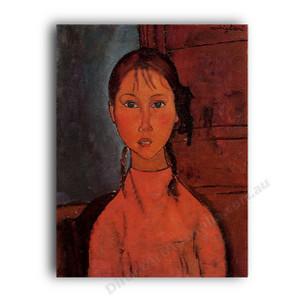 Modigliani | Girl with Braids