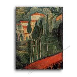 Modigliani | Landscape Southern France