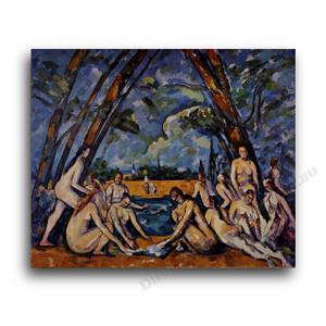 Paul Cezanne | Large Bathers 3