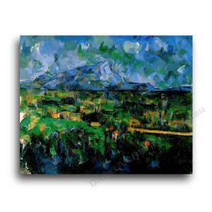 Paul Cezanne | Mont Sainte-Victoire Seen from Les Lauves