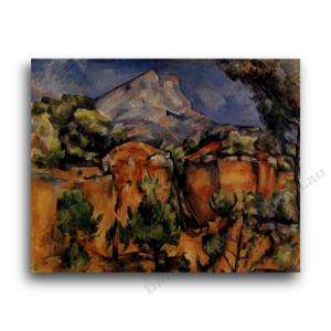 Paul Cezanne | Mont Sainte-Victore Seen from the Bibemus Quarry
