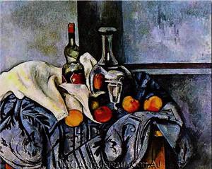 Paul Cezanne | Still Life with Peppermint Bottle