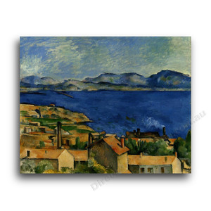 Paul Cezanne | The Gulf of Marseille Seen from L'Estaque