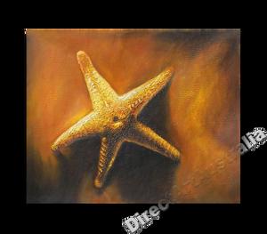 Offshore Star | Beach Art | Print Alternative Oil Painting