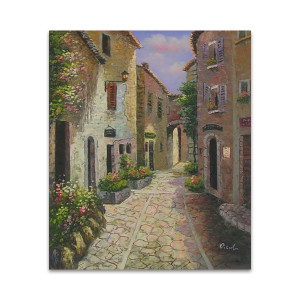 Through The Alleys   Budget Art Ideas for Home Business and Office