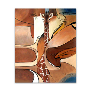 Concealed Giraffe | Animal Art Abstract Artworks in Melbourne