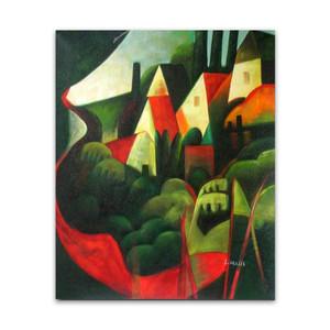 Hillside Abode | Genuine Art Canvas Gift Certificates for Moms