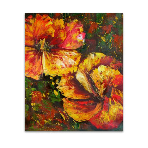 Blossom One | Floral Oil Paintings & Canvas Art Online in Brisbane