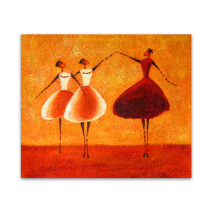 Three Ballerinas Two | Wall Arts and Canvas Photos Online For Ladies