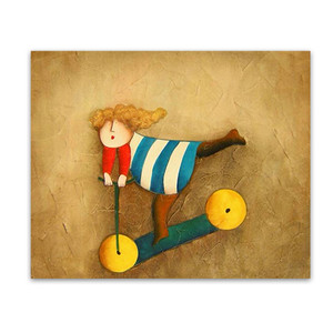 Glee   Gold Hand Painted Canvas Wall Art & Kiddie Artworks for Sale