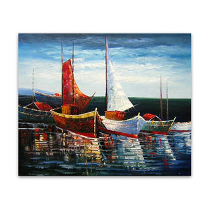 Anchor | Blue Boat Art Paintings & Original Paintings for Sale