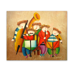 The Band   Art for Childrens Room