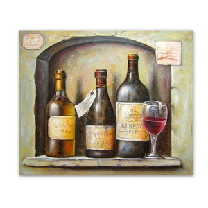 Wines | Art for Cafe Winery Restaurant Business