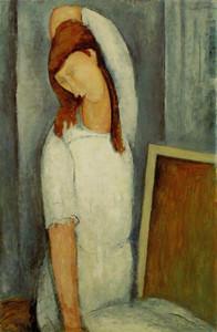 Modigliani | Jeanne Hebuterne Left Arm Behind Head