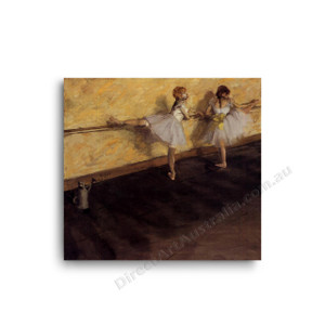 Degas | Dancers Practicing at the Bar