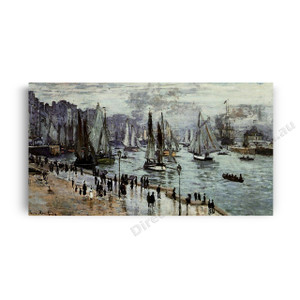 Monet | Fishing Boats Leaving the Port of Le Havre