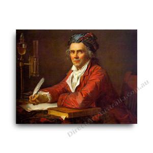 Jaques Louis David | Portrait of Alphonse Leroy