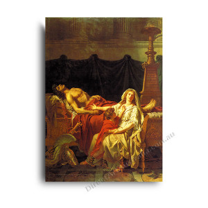 Jaques Louis David | Andromache Mourning Hector