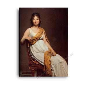 Jaques Louis David | Portrait of Henriette de Verninac
