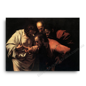 Caravaggio | The Incredulty of Saint Thomas