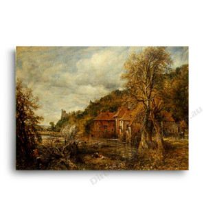 John Constable   Arundel Mill and Castle