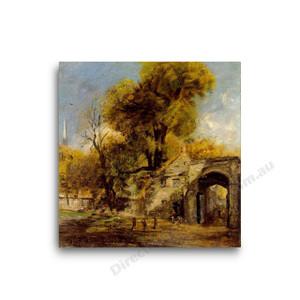 John Constable   Harnham Gate, Salisbury
