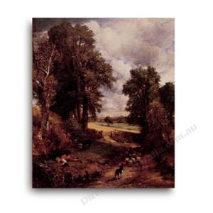 John Constable   The Cornfield