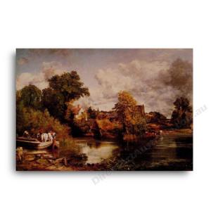 John Constable   The White Horse