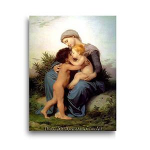 Wiiliam Bouguereau | Fraternal Love