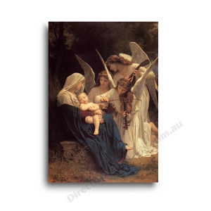 Wiiliam Bouguereau | Song of the Angels