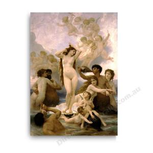 Wiiliam Bouguereau | The Birth of Venus
